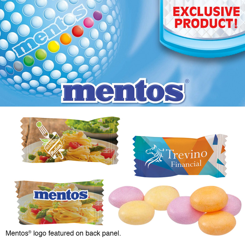 Individually Wrapped Assorted Fruit Mentos