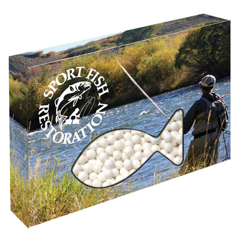 Custom Fish Die Cut Candy Box