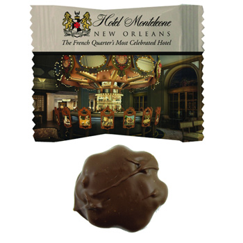Custom Individually Wrapped Chocolate Cashew Turtle