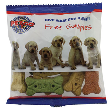 Zagasnacks Promo Snack Pack Bags with Dog Bones