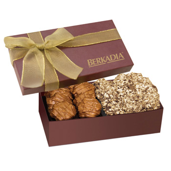 The Executive Gift Box - Almond Butter Crunch & Caramel Cashew Turtles