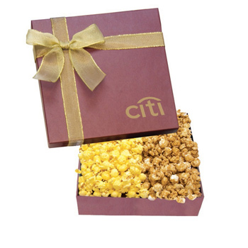 The Chairman Gift Box - Caramel & Butter Popcorn