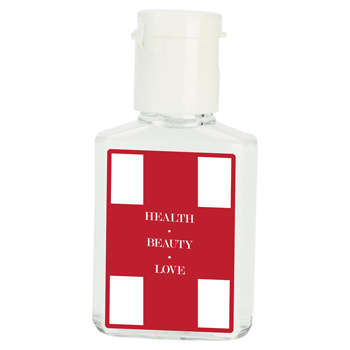 1/2 Oz. Flat Hand Sanitizer