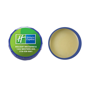 Lip Moisturizer Snap Top Tin