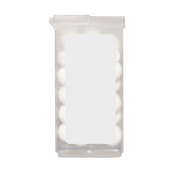 Plastic Dispenser with Mints