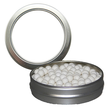 Candy Window Tin Short Round