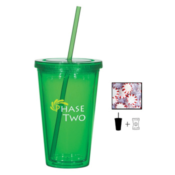 16 oz. Double Wall Tumbler With Starlite Mints