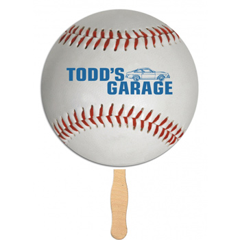 Handheld Baseball Shaped Fan