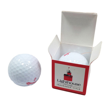 Single Individual Golf Ball Box