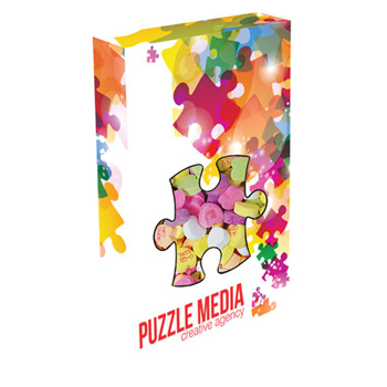 Custom Puzzle Die Cut Candy Box