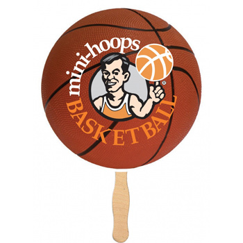 Handheld Basketball Shaped Fan